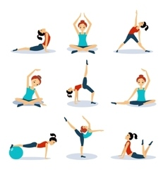 Sport and Leisure People Activities vector image