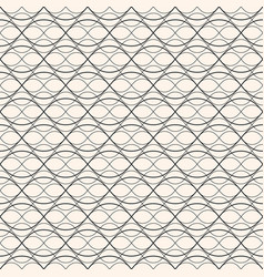 subtle texture seamless mesh pattern thin lines vector image vector image