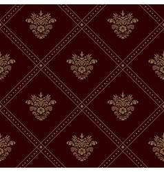 Royal seamless wallpaper vector image