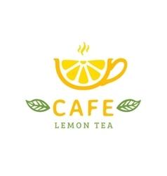 Cafe logo vector image
