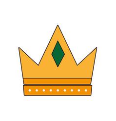 crown icon image vector image