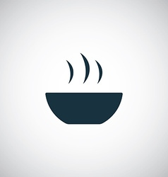 soup icon vector image