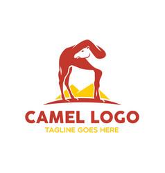 camel logo-15 vector image