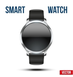 Smart design example wrist watch vector