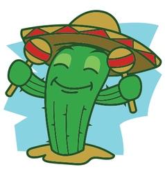 Dance cactus vector