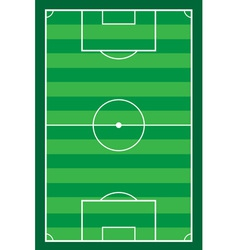 football soccer stadiun vector image