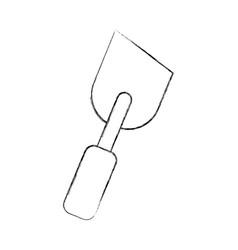 spatula of construction icon vector image vector image