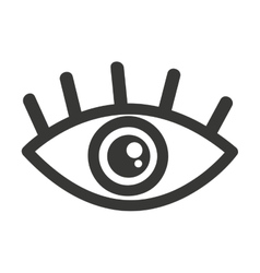 Eye human view icon vector
