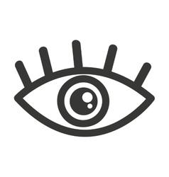 eye human view icon vector image