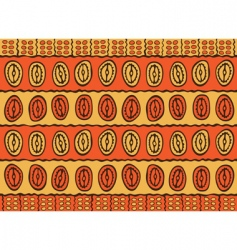 african pattern vector image