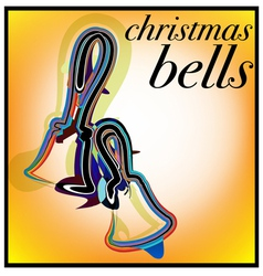 Christmas bells vector