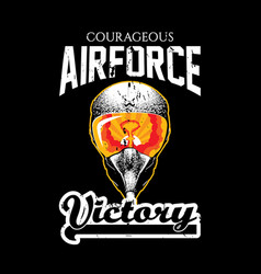 Creative design victory poster vector