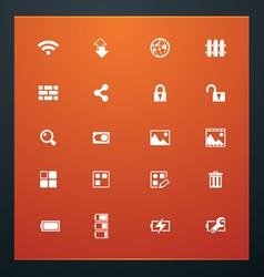 universal glyphs 15 phone symbols 4 vector image