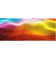 abstract background with colorful vector image vector image