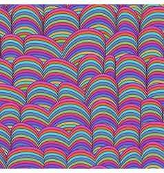 Abstract Hand-drawn Pattern Waves vector image