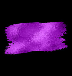 purple texture paint stain vector image