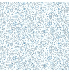space - seamless background vector image vector image