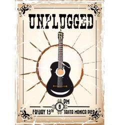 Unplugged vector