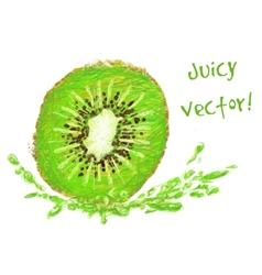 Drawing kiwi with a slice vector