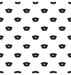 Cap taxi driver pattern simple style vector