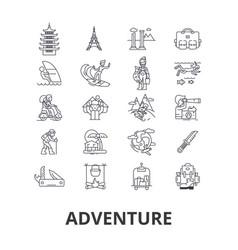 adventure explorer travel travel compass vector image