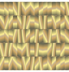 Abstract seamless pattern with gold plates vector