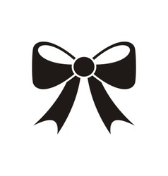 Bow icon menu icon vector