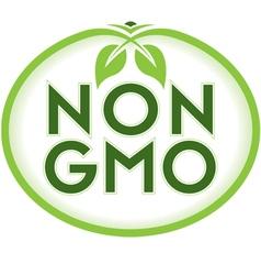 Non GMO vector image