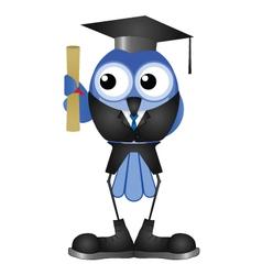 Graduation man vector