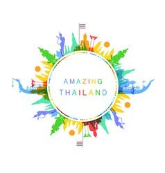 Amazing Thailand vector image vector image