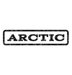 Arctic watermark stamp vector