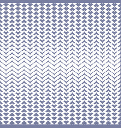 halftone mesh seamless pattern with curved zigzag vector image vector image