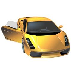 Luxury car vector