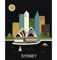 Sydney australia vector