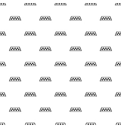 Checker taxi pattern simple style vector