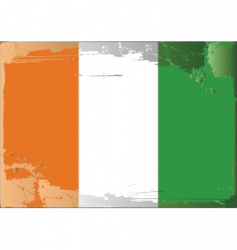 Ireland national flag vector image
