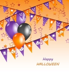 Happy halloween party vector