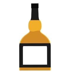 Whiskey bottle drink design graphic vector