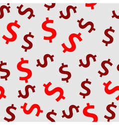 Money sign seamless pattern background vector