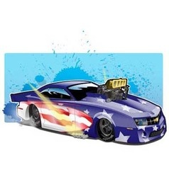 ProModCamaro vector image vector image