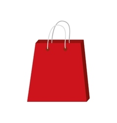 Shopping bag market design vector