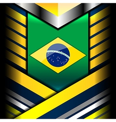 Brazil geometric color backgrounds vector