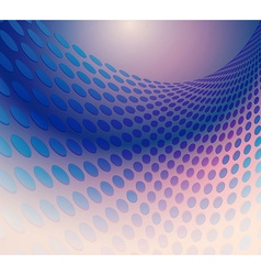 Geometric halftone Dots ornate background vector image vector image