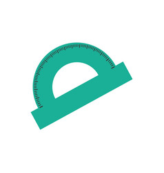 Protractor angle meter vector
