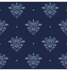 Vintage damask luxury pattern vector image vector image