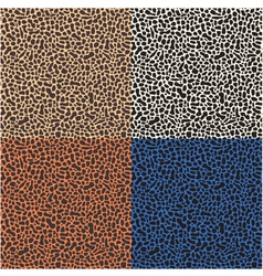 Seamless leopard cheetah animal skin pattern vector