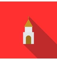 Church icon flat style vector