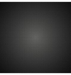 modern black metal grid texture vector image vector image