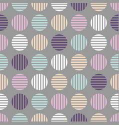 Seamless cloth pattern halftone soft colors vector
