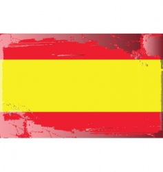 Spain national flag vector
